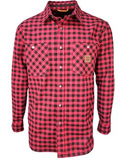 Mens Thurber Vintage Plaid Shirt-