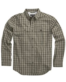 Yarn-Dyed Poplin Paseo Plaid Shirt-