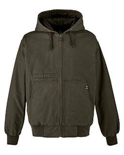 Mens Laramie Canvas Hooded Jacket-