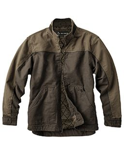 Mens 100% Cotton 12oz Canvas/3oz Polyfill Insulation Tall Horizon Jacket