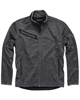 Atlas Bonded Melange Sweater Fleece Jacket-Dri Duck