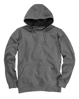 Cotton Blend Pullover Hooded Sweatshirt-Dri Duck