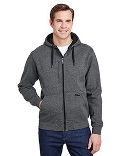 Mens Bateman Power Full Zip Hooded Fleece-