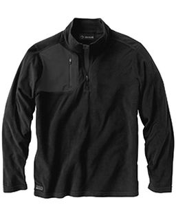 Mens 100% Polyester Nano Fleece Tm 1/4 Zip Interval Pullover-Dri Duck