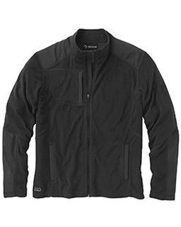 Mens 100&#37<long> Polyester Nano Fleece Tm Full Zip Jacket Explorer