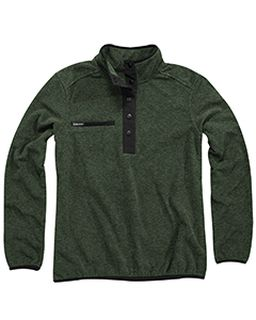 Aspen Melange Mountain Fleece Pullover-Dri Duck