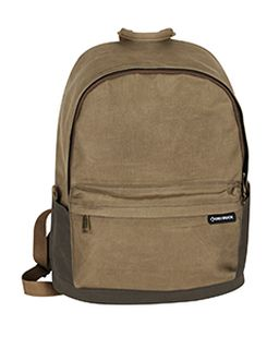 100% Waxed Cotton Canvas Backpack-