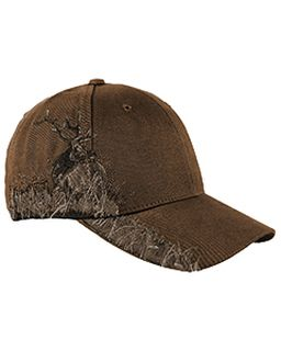 Brushed Cotton Twill Elk Cap-Dri Duck