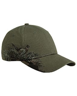 Brushed Cotton Twill Pheasant Cap-