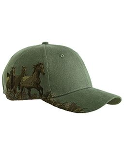 Brushed Cotton Twill Mustang Cap-