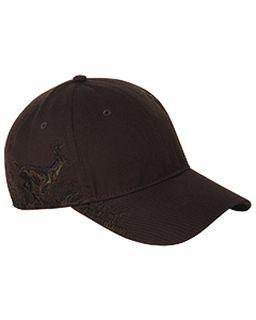 Relaxed Fit Running Buck Cap-
