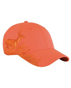 Running Buck Structured Mid-Profile Hat-