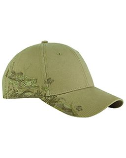 Brushed Cotton Twill Bass Cap-Dri Duck
