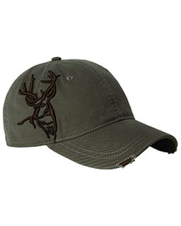 Brushed Cotton Twill Buck 3d Cap-Dri Duck