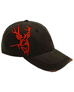Brushed Cotton Twill Buck 3d Cap-