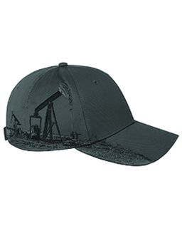 Brushed Cotton Twill Oil Field Cap-