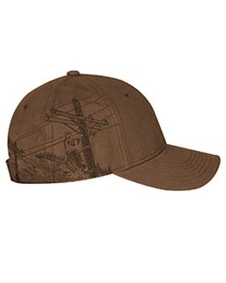 100% Cotton Structured Mid-Profile Hat-Dri Duck