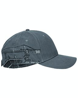 Brushed Cotton Twill Tower Crane Cap-Dri Duck