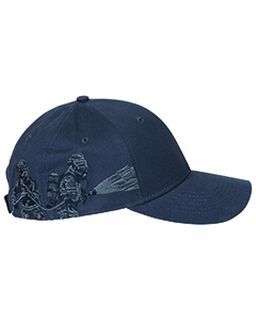 Brushed Cotton Twill Firefighter Cap-