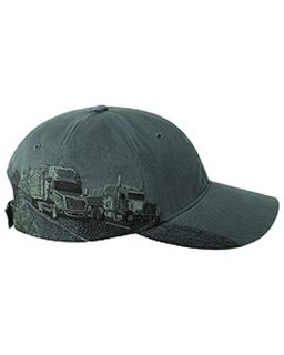 Brushed Cotton Twill Trucking Cap-