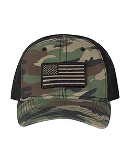 100% Cotton Unstructured Camo Hat-