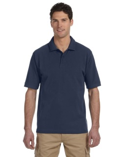 Mens 6.5 Oz., 100% Organic Cotton Pique Polo-
