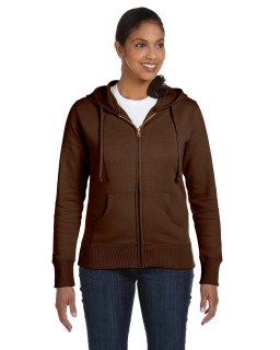 Ladies 9 Oz. Organic/Recycled Full-Zip Hood-