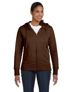 Ladies 9 Oz. Organic/Recycled Full-Zip Hood