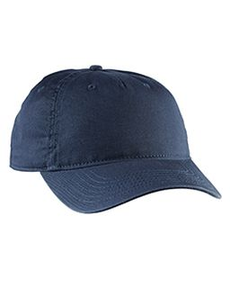 Twill 5-Panel Unstructured Hat-