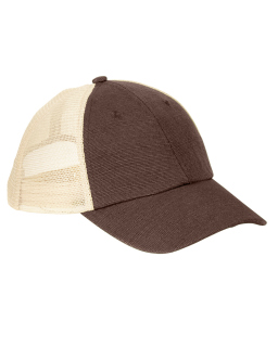 6.8 Oz. Hemp Washed Soft Mesh Trucker-