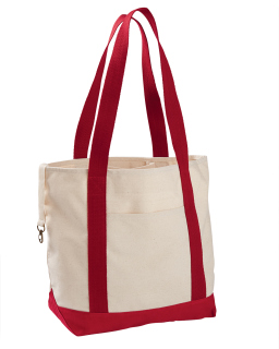 12 Oz. Organic Cotton Canvas Boat Tote Bag-econscious