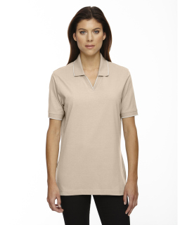 Ladies Cotton Jersey Polo