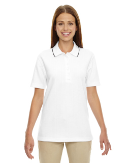 Ladies Edry® Needle-Out Interlock Polo