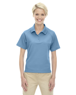 Ladies Eperformance™<long> Ottoman Textured Polo