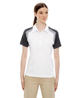 Ladies Edry® Colorblock Polo-Ash City - Extreme