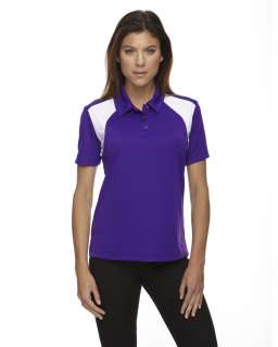 Ladies Eperformance™<long> Colorblock Textured Polo