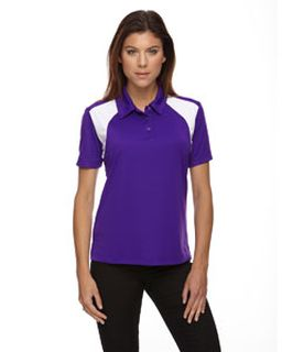 Ladies Eperformance™ Colorblock Textured Polo-Ash City - Extreme
