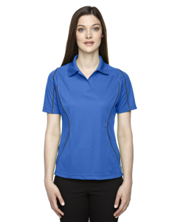 Ladies Eperformance™ Velocity Snag Protection Colorblock Polo With Piping