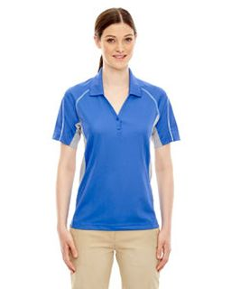 Ladies Eperformance™ Parallel Snag Protection Polo With Piping-Ash City - Extreme