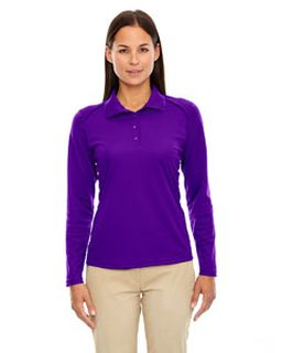 Ladies Eperformance™ Snag Protection Long-Sleeve Polo-Ash City - Extreme