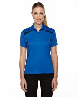 Ladies Eperformance™ Tempo Recycled Polyester Performance Textured Polo-Ash City - Extreme