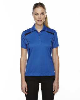 Ladies Eperformance™<long> Tempo Recycled Polyester Performance Textured Polo