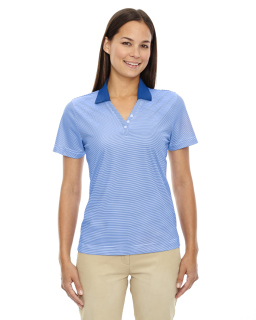 Ladies Eperformance™<long> Launch Snag Protection Striped Polo