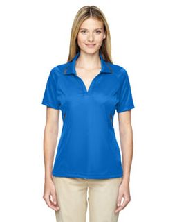 Ladies Eperformance™ Propel Interlock Polo With Contrast Tape-Ash City - Extreme