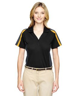 Ladies Eperformance™ Strike Colorblock Snag Protection Polo-Ash City - Extreme