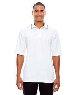 Mens Edry® Needle-Out Interlock Polo-Ash City - Extreme
