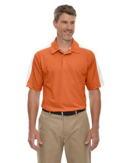 Mens Eperformance™ Pique Colorblock Polo-Ash City - Extreme