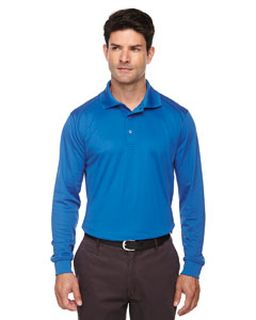 Mens Tall Eperformance™ Snag Protection Long-Sleeve Polo-Ash City - Extreme