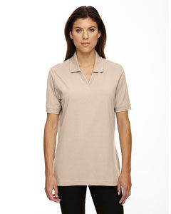 Ladies Cotton Jersey Polo-