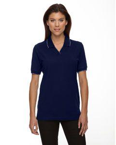 Ladies Cotton Jersey Polo-
